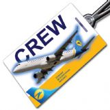 Ukraine International ERJ-190 Crew Tag